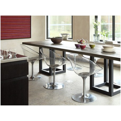 Table de salle manger zoe rectangle ph collection for Salle a manger table haute