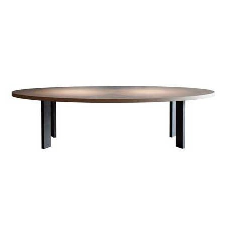 Table de salle manger ovale ellipse ph collection for Salle a manger table ovale