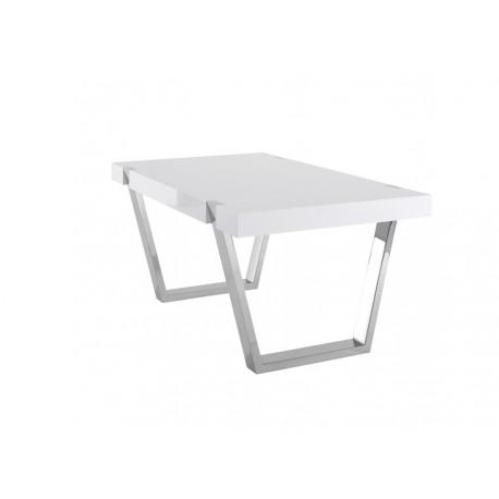 Table de salle manger artea laque blanche azea d co en ligne tables de - Salle a manger en ligne ...