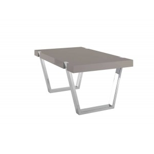 Table de salle manger baron ronde ph collection d co - Table a manger taupe ...