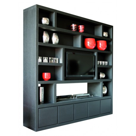 biblioth que video chemin e 9 finitions ph collection d co en ligne bibliotheques design. Black Bedroom Furniture Sets. Home Design Ideas