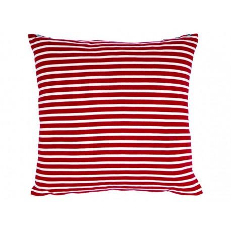 coussin marini re rouge ecru jean paul gaultier d co en ligne coussins. Black Bedroom Furniture Sets. Home Design Ideas