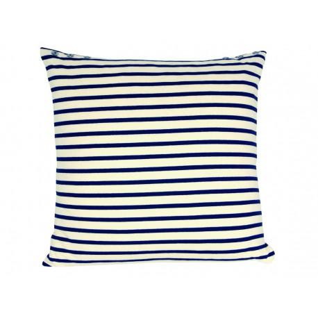 coussin marini re ecru bleu jean paul gaultier d co en ligne coussins. Black Bedroom Furniture Sets. Home Design Ideas