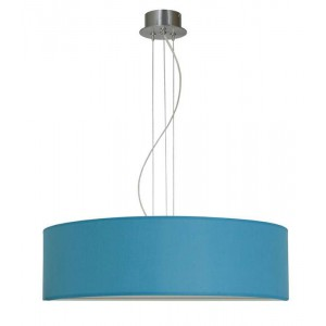 Suspension Tambourin turquoise