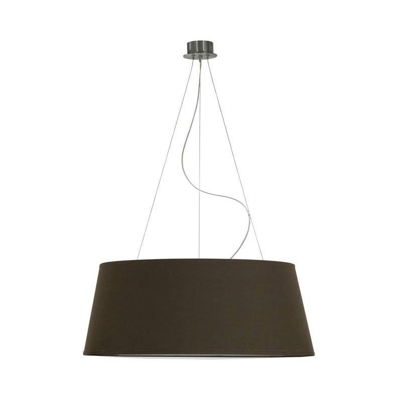 suspension conique marron un autre regard d co en ligne suspensions lustres design. Black Bedroom Furniture Sets. Home Design Ideas