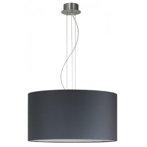 Suspension Tambour gris