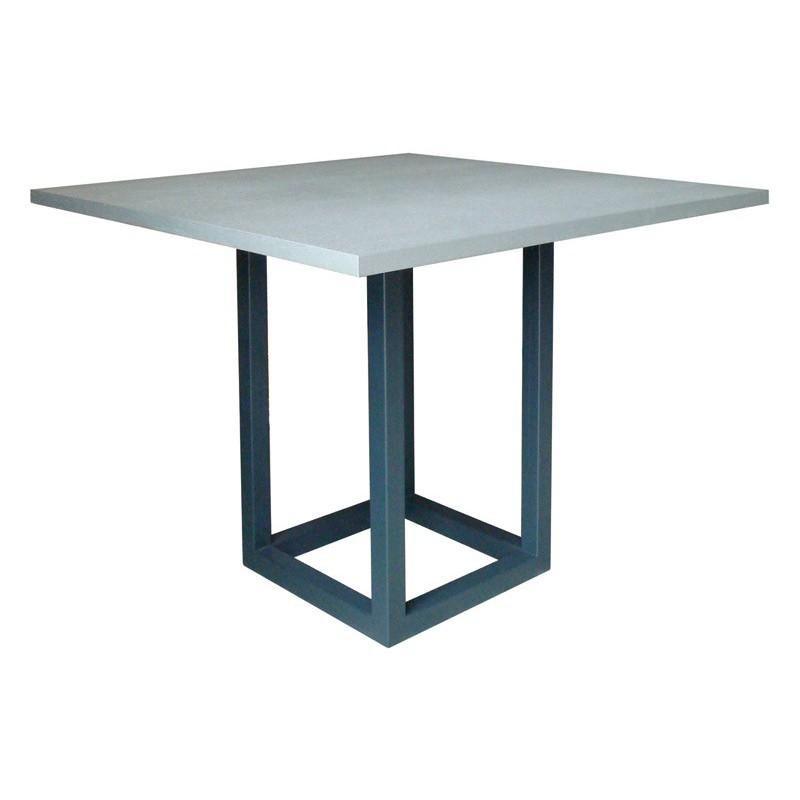 Table de bar zoe carr e ph collection d co en ligne - Table bar carree ...