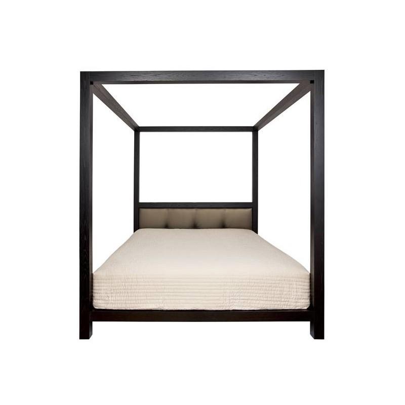 but lit baldaquin great description miliboo lit baldaquin baroque noir personnes victoria with. Black Bedroom Furniture Sets. Home Design Ideas