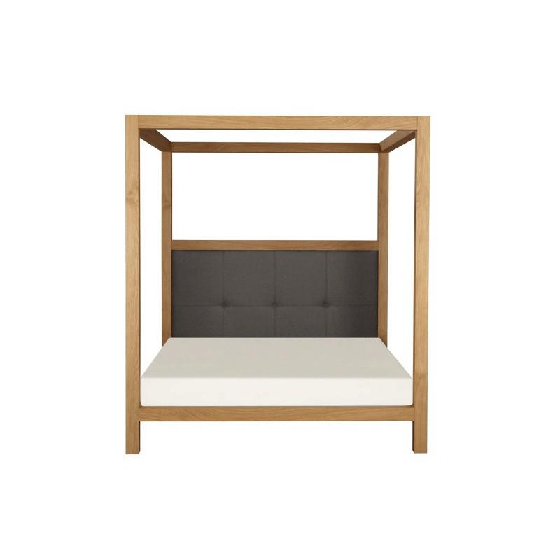 lit baldaquin ykra grande t te de lit azea d co en ligne lits. Black Bedroom Furniture Sets. Home Design Ideas