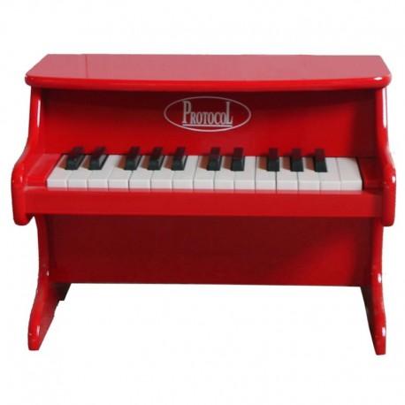 Petit piano rouge