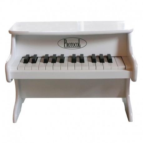 Petit piano blanc protocol d co en ligne instruments de musique enfant - Petit piano de cuisson ...