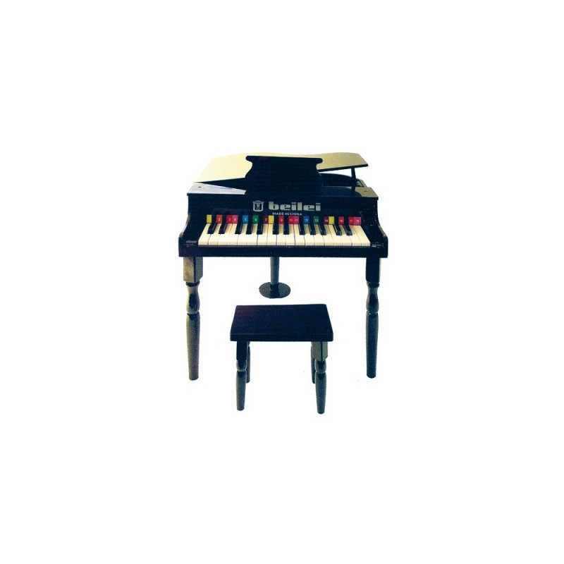 petit piano et tabouret noir protocol d co en ligne instruments de musique enfant. Black Bedroom Furniture Sets. Home Design Ideas