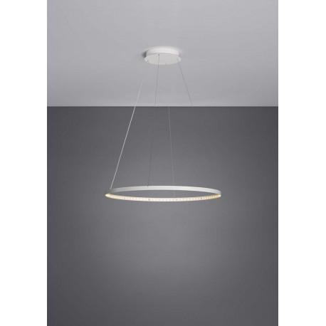 suspension circle 60 blanche le deun luminaires d co en ligne suspensions lustres design. Black Bedroom Furniture Sets. Home Design Ideas