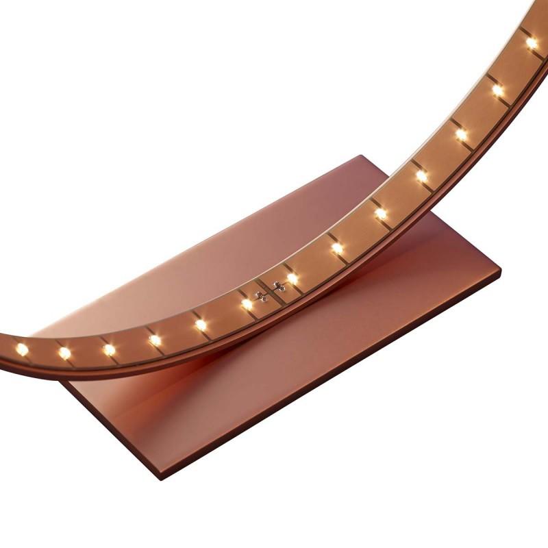 lampe micro cuivre mat le deun luminaires d co en ligne lampes design. Black Bedroom Furniture Sets. Home Design Ideas