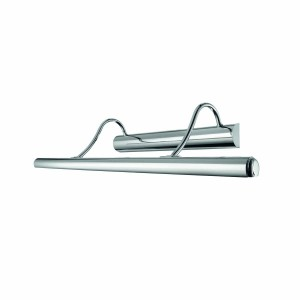 Eclairage tableau Mirror 10 chrome, Ideal Lux