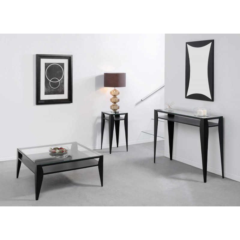 Sellette ovali anthracite un autre regard d co en ligne for Deco design en ligne