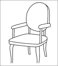 Tissu pour fauteuil