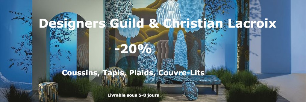 -20% sur Designers Guild et Christian Lacroix