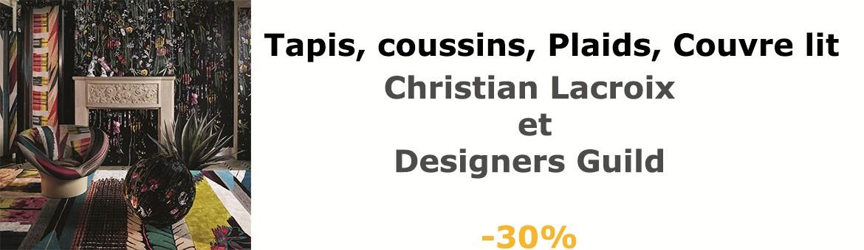 -30% sur Designers Guild et Christian Lacroix